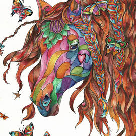Sherry Shipley - Butterfly Pony