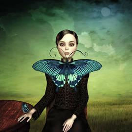 Britta Glodde - Butterfly Portrait in the meadow