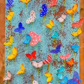 Hyuntae Kim - butterfly wall