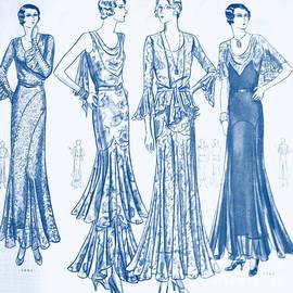 Diane montana Jansson - Butterick Pattern Blue