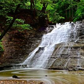 Butternut Falls Richfield Ohio by Frozen in Time Fine Art Photography
