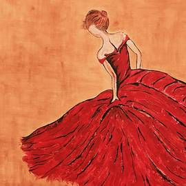 Ira Bansal - Red Dress