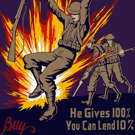 Buy War Stamps And Bonds by War Is Hell Store