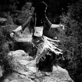 Scott Sawyer - BW Cliff Belly Dance