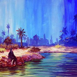 By the oasis by Amani Al Hajeri