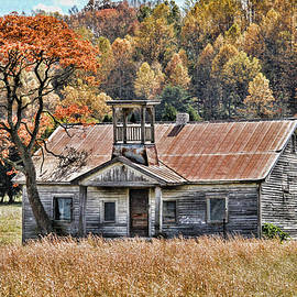 Bygone Days - Old Schoolhouse by HH Photography of Florida