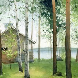 Cabin In The Woods by Zapista Zapista