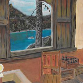 Cabin Window by David Bigelow