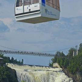 Cable Car at Falls by Crystal Loppie
