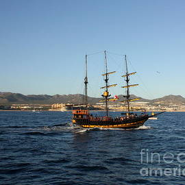 Cabo San Lucas Pirate Ship by Charlene Cox