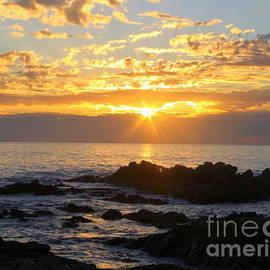Cabo Sea of Cortez Sunrise by Charlene Cox
