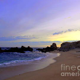 Cabo Sunset El Tule Sea of Cortez by Charlene Cox