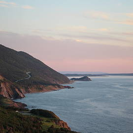 Cabot Trail at dusk