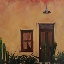 Cactus On Guard Duty Barrio        8 by Cheryl Nancy Ann Gordon