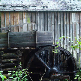 Cade's Cove Historic Cable Mill Water Wheel by Maili Page