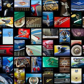 Cadillac Art -01 by Jill Reger