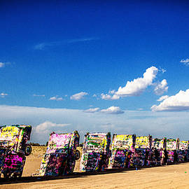 Cadillac Ranch by Gestalt Imagery
