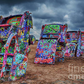 Priscilla Burgers - Cadillac Ranch of Amarillo Texas
