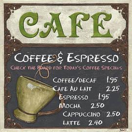 Cafe Chalkboard