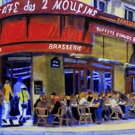 David Zimmerman - Cafe Des 2 Moulins