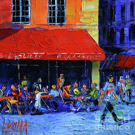 Mona Edulesco - Cafe Gargouille