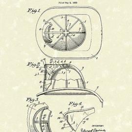 Cairns Helmet 1932 Patent Art by Prior Art Design
