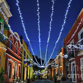 Callejon De Los Sapos - Alley Of The Toads, Puebla, Mexico by Sam Antonio Photography
