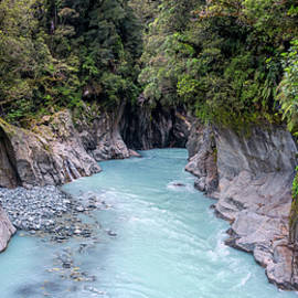 Callery Gorge New Zealand by Joan Carroll