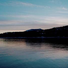 Calm Blue Lake by Troy Stapek