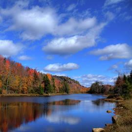 David Patterson - Calmness on Bald Mountain Pond