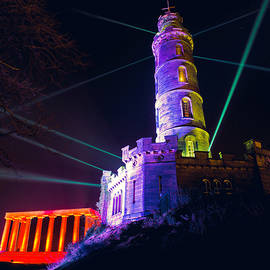 Ray Devlin - Calton Hill Lightshow