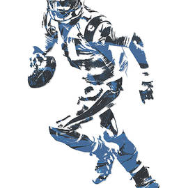 CAM NEWTON CAROLINA PANTHERS PIXEL ART 10 - Joe Hamilton