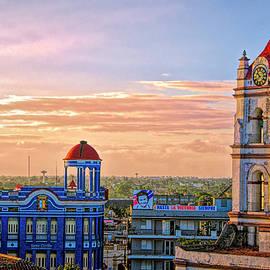 Claude LeTien - Camaguey Cityscape 2