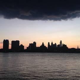 Kimberly Scott - View from Camden looking at Philadelphia