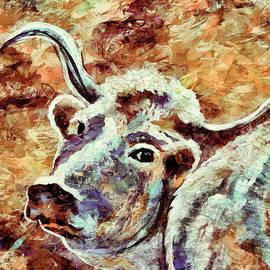 Janice Rae Pariza - Camouflage Cow Art