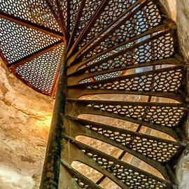 Thomas R Fletcher - Cana Island Lighthouse Staircase