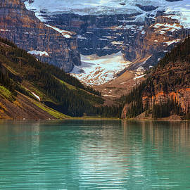 Canadian Rockies In Alberta, Canada by Maria Angelica Maira
