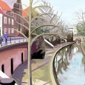 Plum Ovelgonne - Canal Bridge