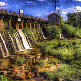 Canal Dam by Harry B Brown