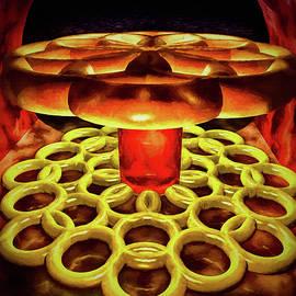 Candies in a dark tunnel by Ramon Martinez