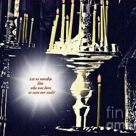 Sarah Loft - Candles in Church Card 2