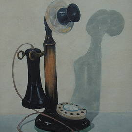 Candlestick Telephone by E Colin Williams ARCA