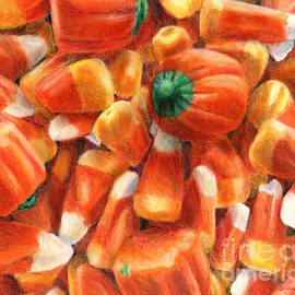 Shana Rowe Jackson - Candy Corn Cascade