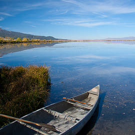 Canoe at Red Rock by Idaho Scenic Images Linda Lantzy