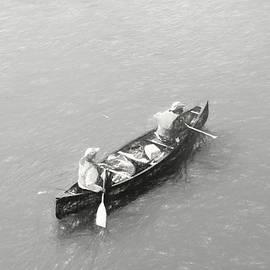 Canoe Fishing Trip by Maciek Froncisz