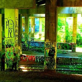 Canvas Columns by Ashadd Lewis
