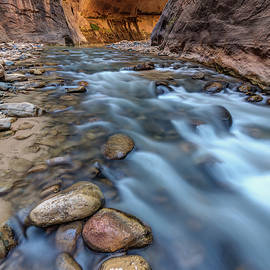 Pierre Leclerc Photography - Canyon Glow River Flow