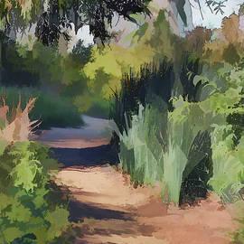 Linda Brody - Canyon Path II Painterly