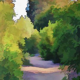 Linda Brody - Canyon Path III Painterly