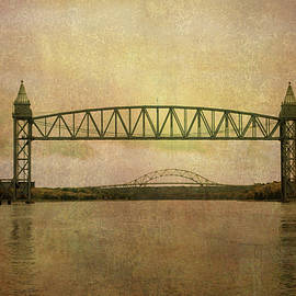 Cape Cod Canal And Bridges by Dave Gordon